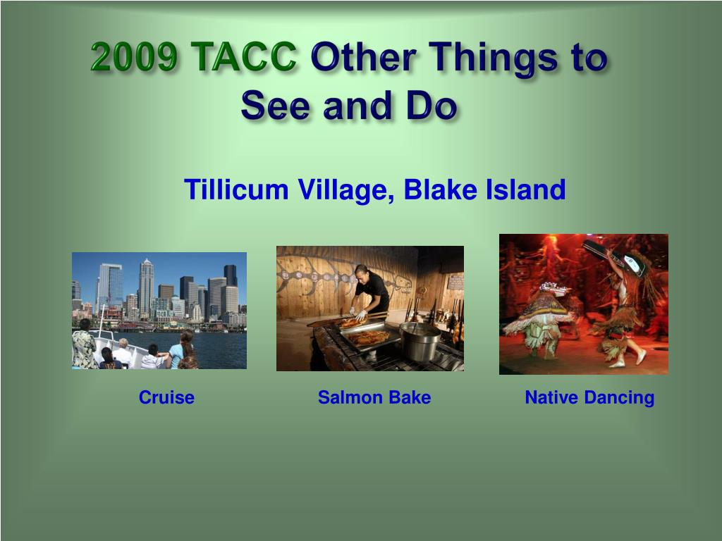 2009 TACC