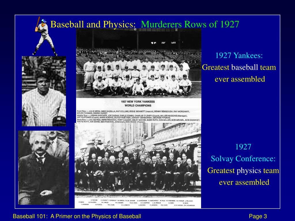 1927 Yankees: