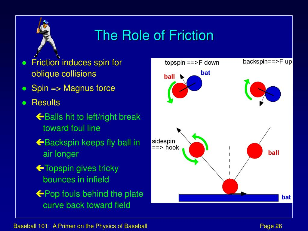 The Role of Friction
