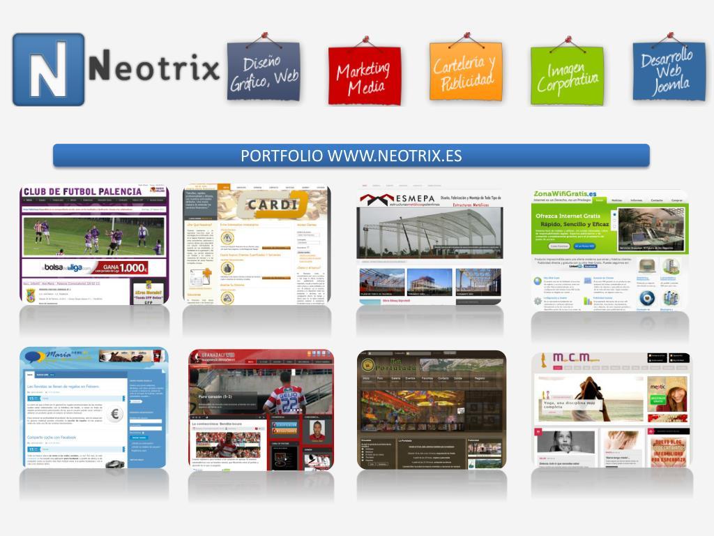 PORTFOLIO WWW.NEOTRIX.ES