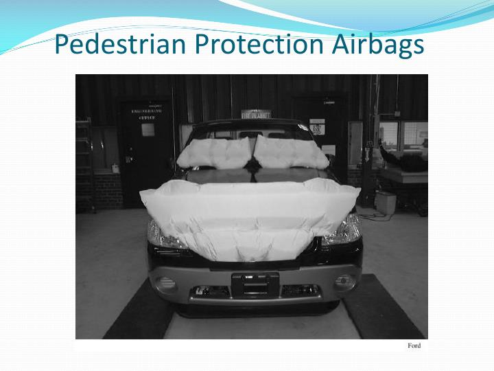 Pedestrian Protection Airbags