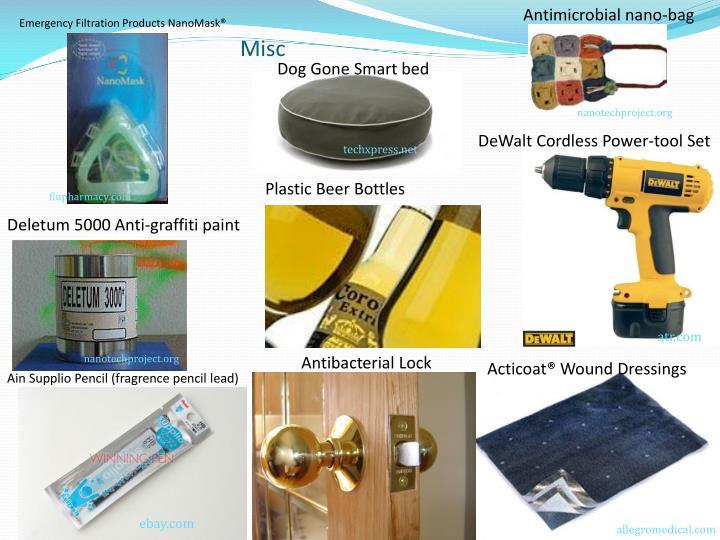 Antimicrobial nano-bag