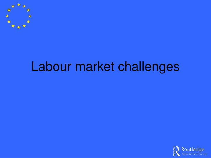 Labour market challenges