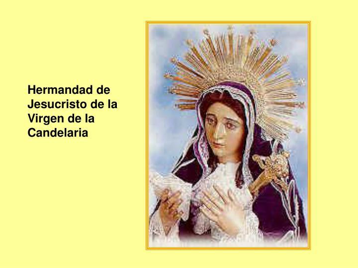 Hermandad de Jesucristo de la Virgen de la Candelaria
