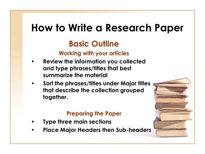 Write my research paper review format