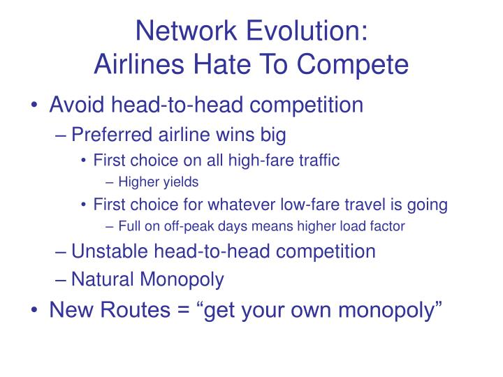 Network Evolution:
