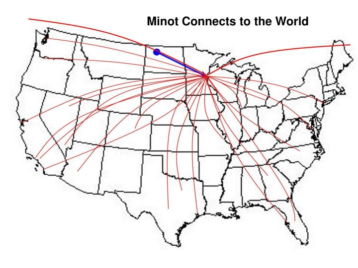 Minot Connects to the World