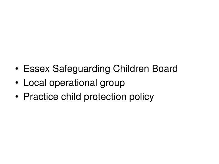 Essex Safeguarding Children Board
