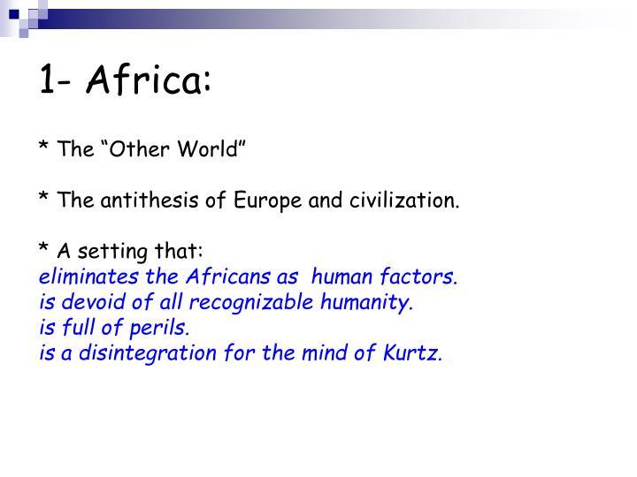 1- Africa: