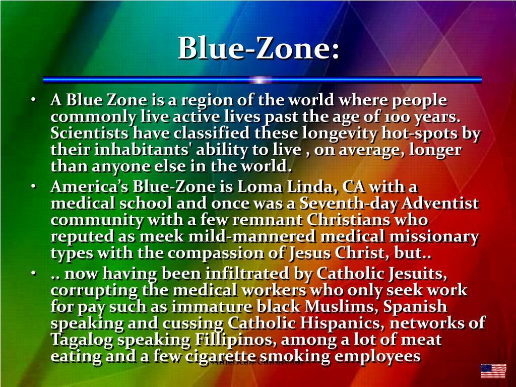 Blue-Zone: