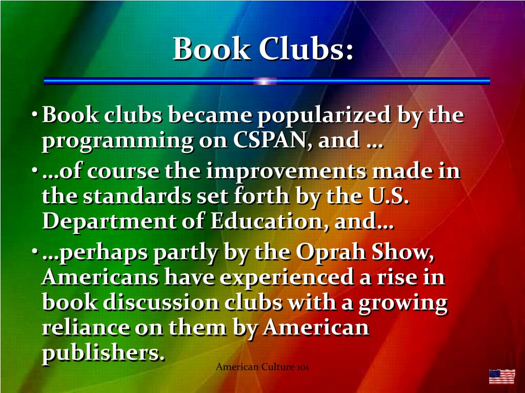 Book Clubs: