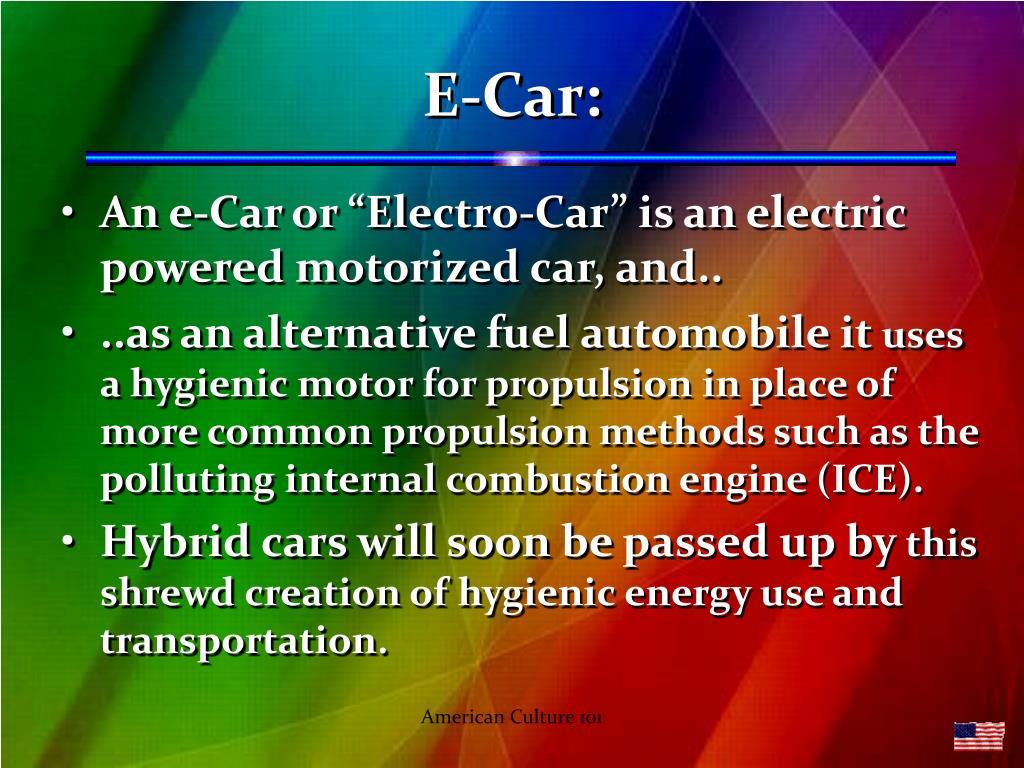 E-Car: