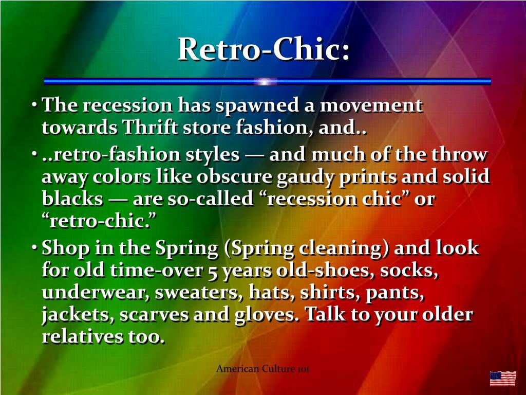 Retro-Chic: