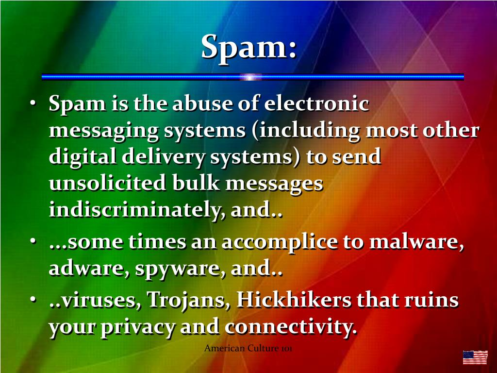 Spam: