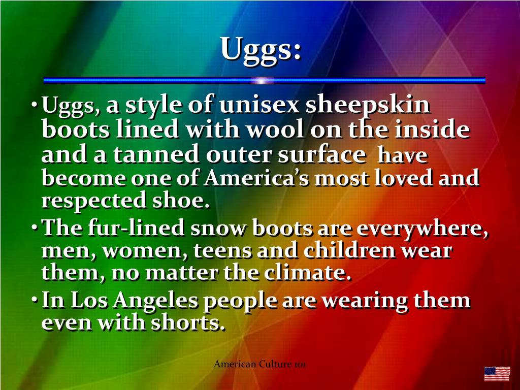 Uggs: