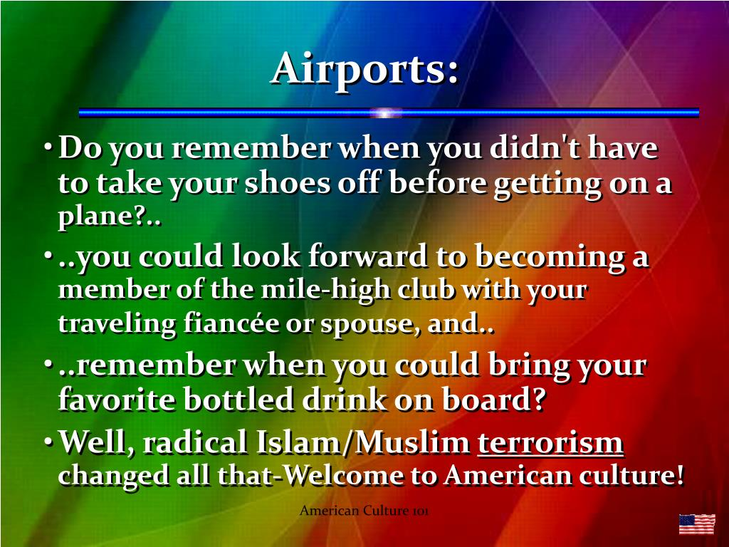 Airports: