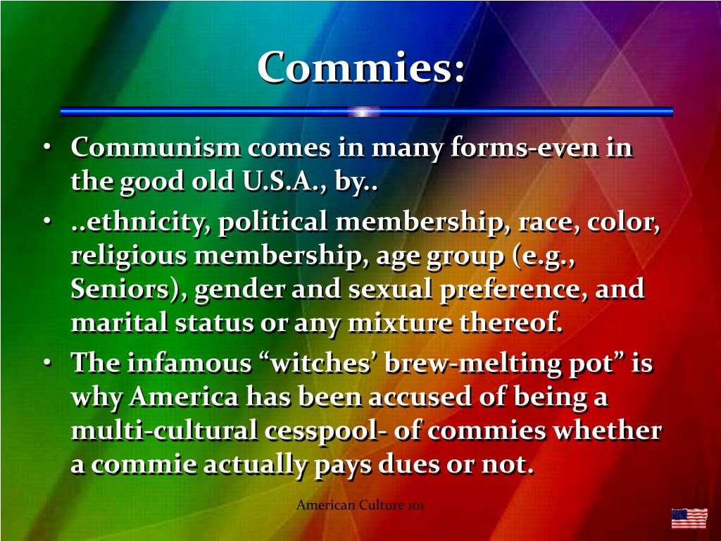 Commies: