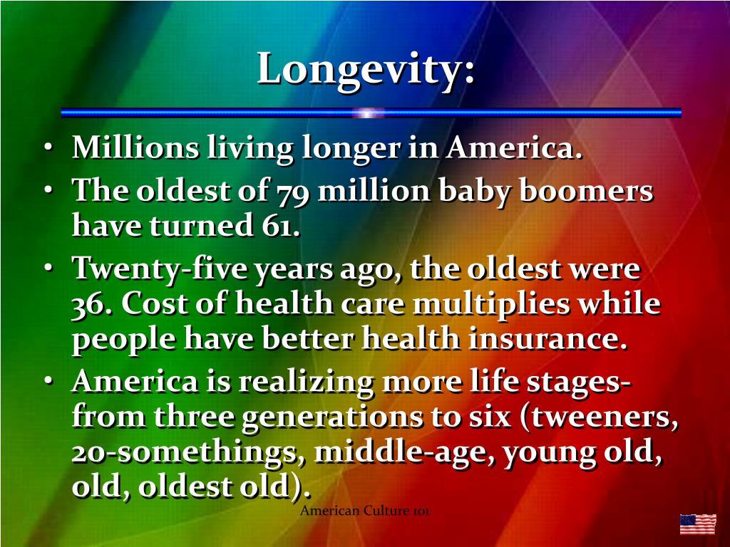 Longevity:
