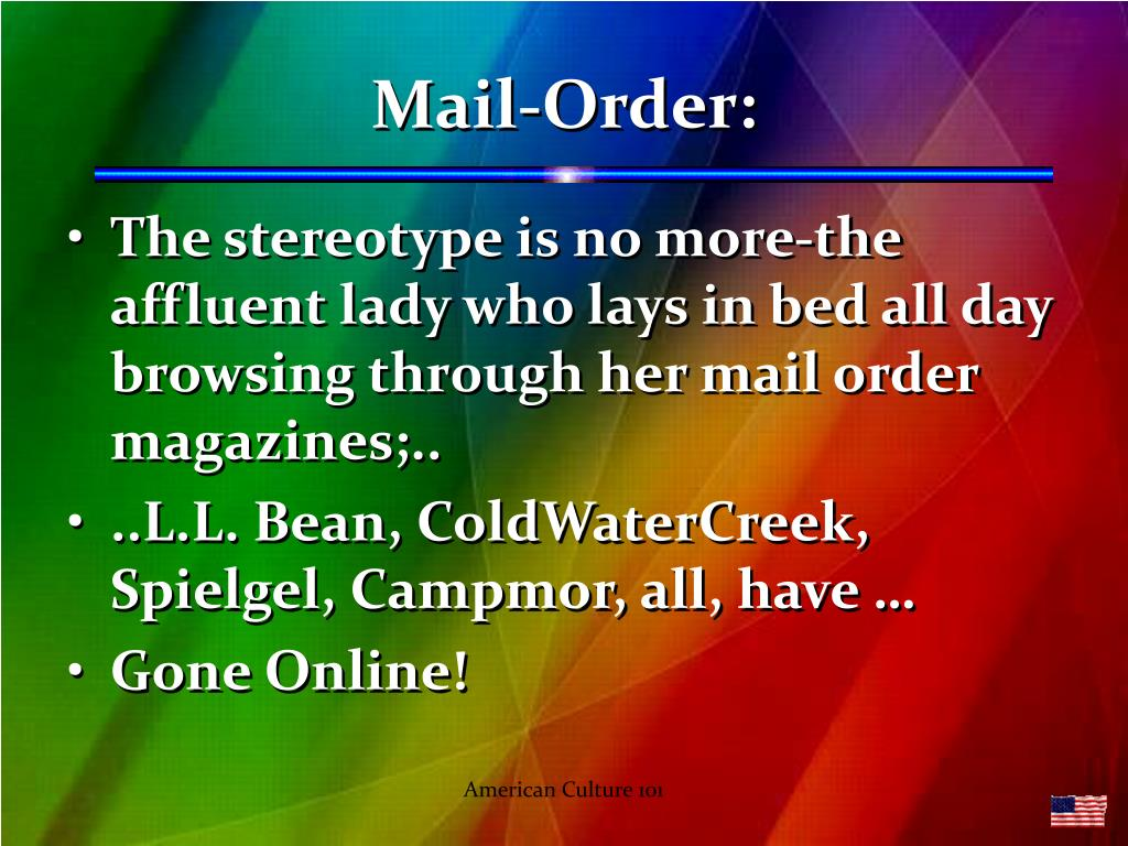 Mail-Order: