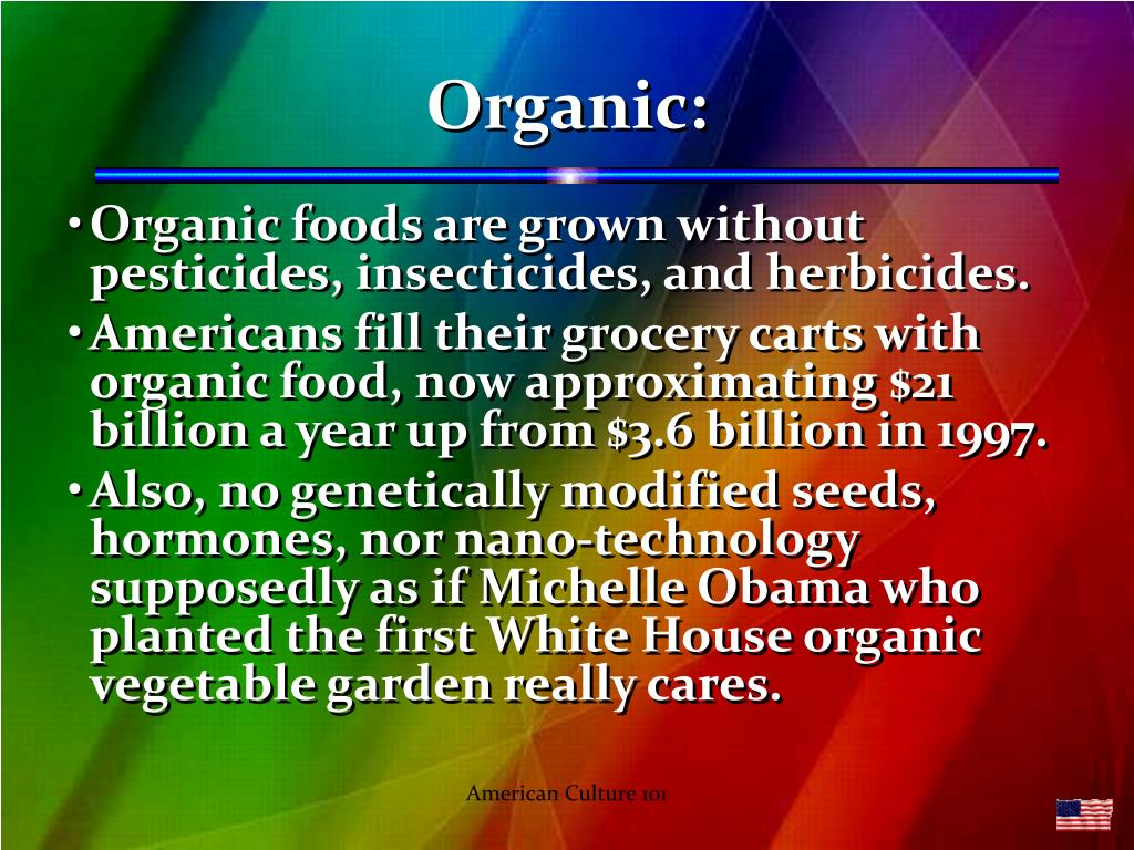 Organic: