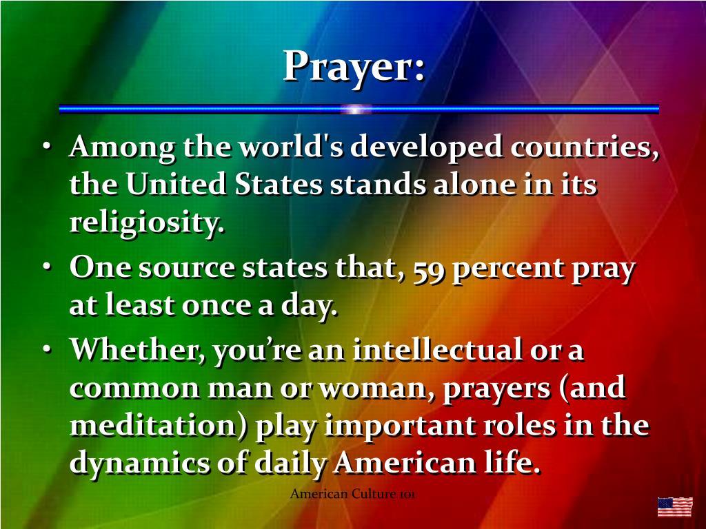 Prayer:
