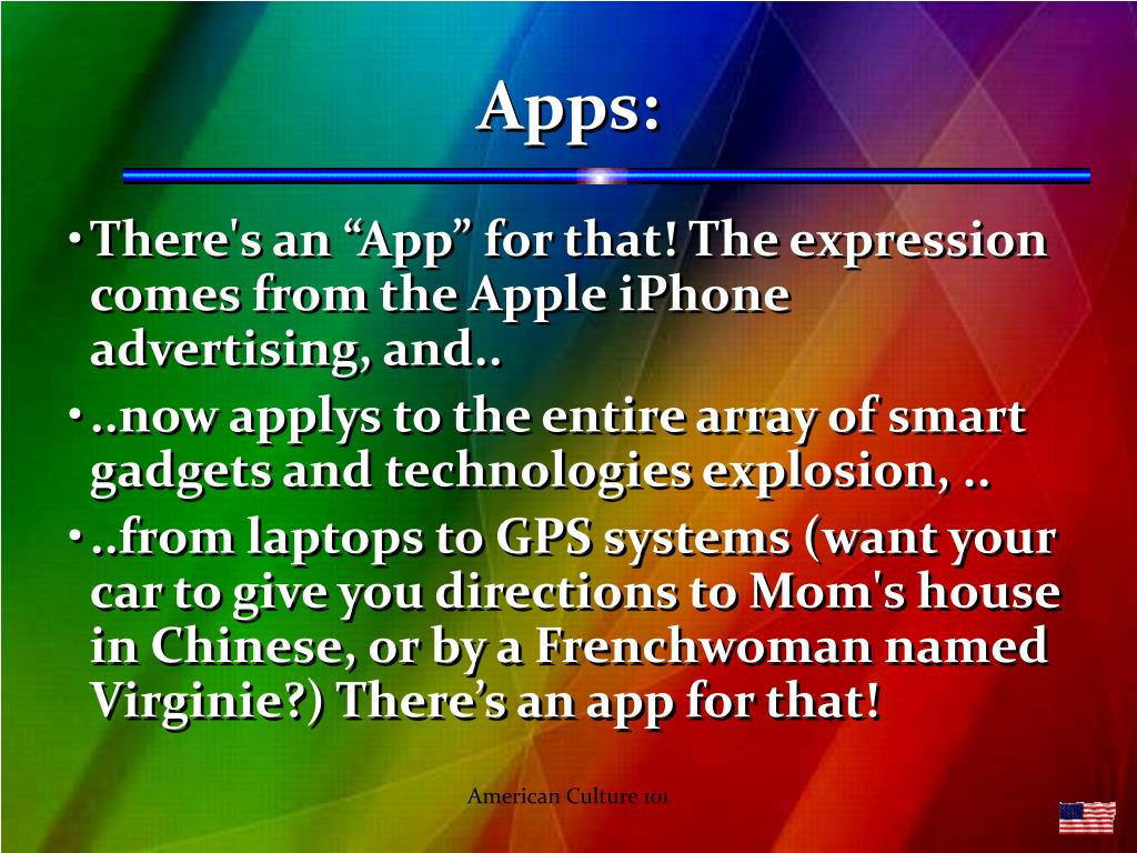 Apps: