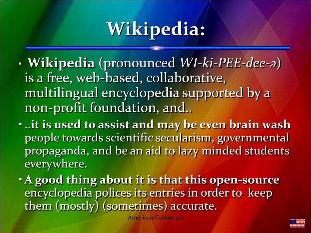 Wikipedia: