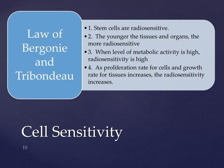Cell Sensitivity