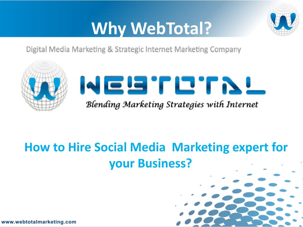 Why WebTotal?