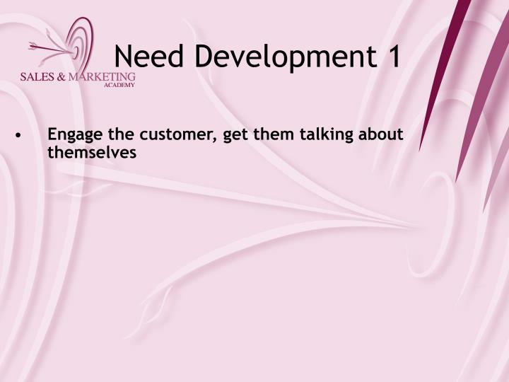 Need Development 1