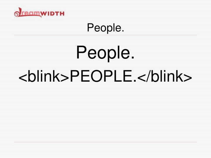 People.