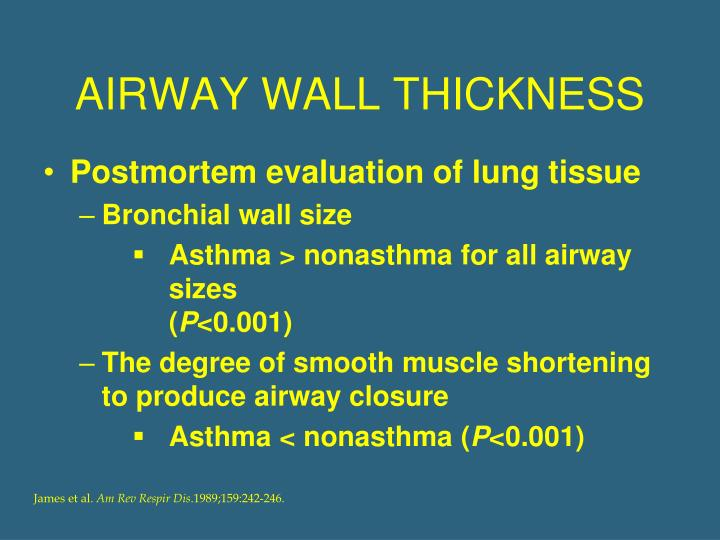 AIRWAY WALL THICKNESS