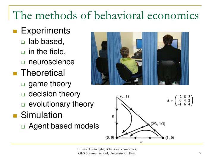 PPT - Behavioral Economics: An introduction PowerPoint ...