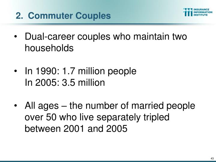 Commuter Couples