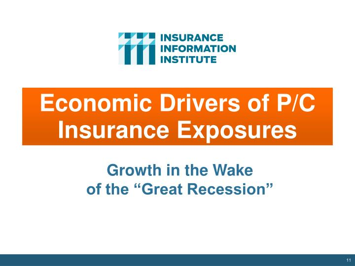 Economic Drivers of P/C Insurance Exposures