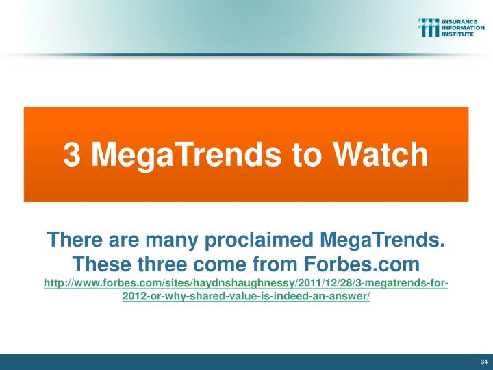3 MegaTrends to Watch