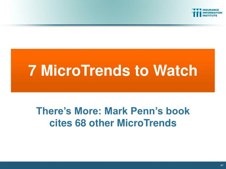 7 MicroTrends to Watch