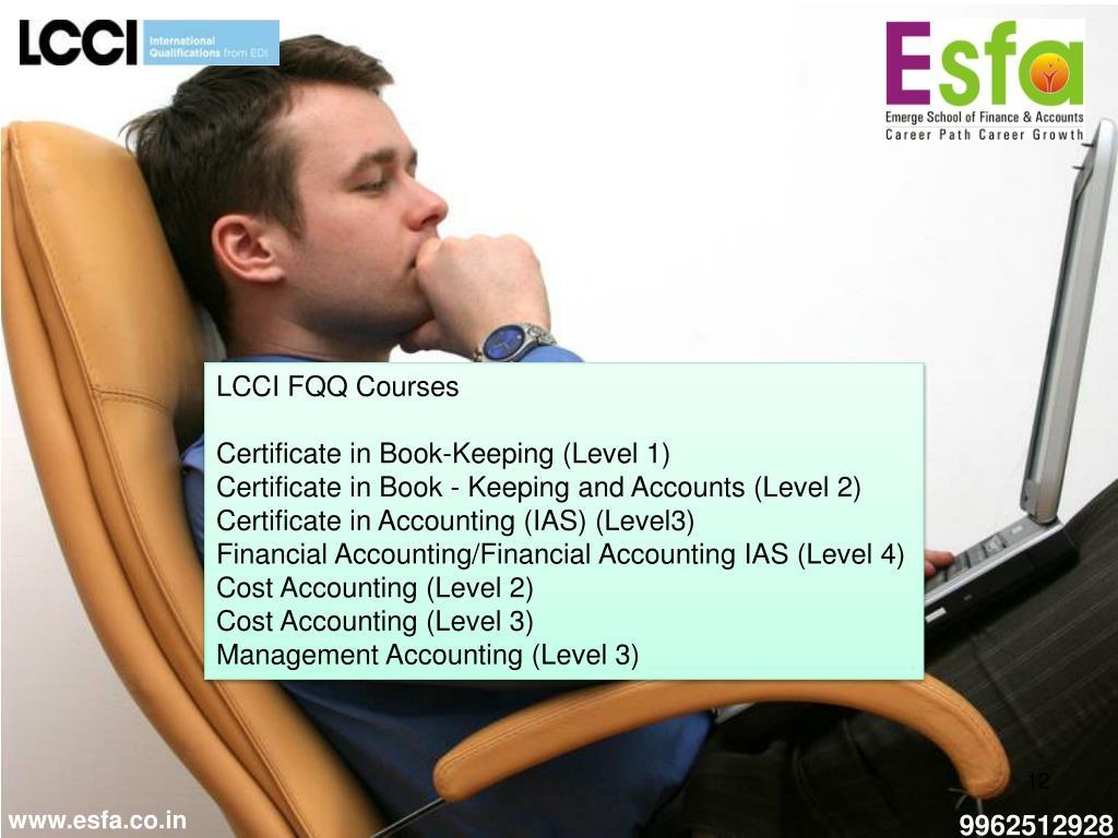 LCCI FQQ Courses