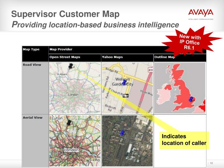 Supervisor Customer Map