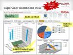 supervisor dashboard view
