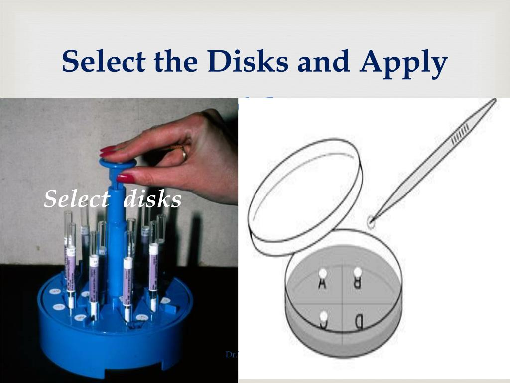 Select the Disks and Apply