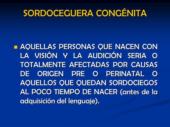 SORDOCEGUERA