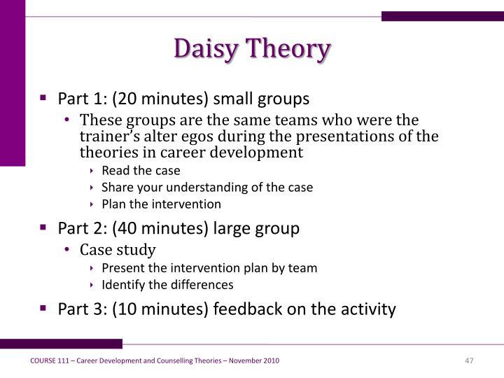 Daisy Theory