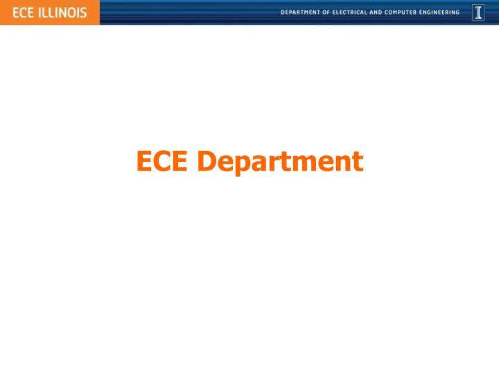 ECE Department