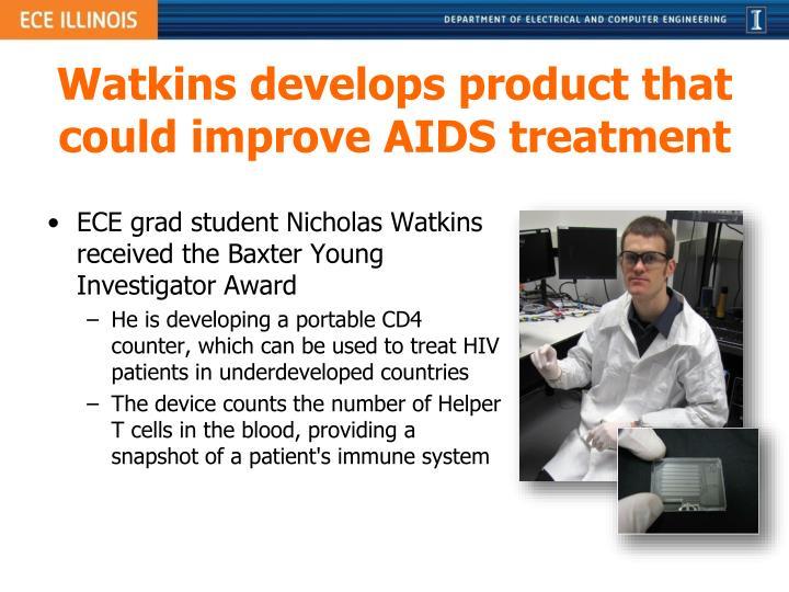 Watkins develops