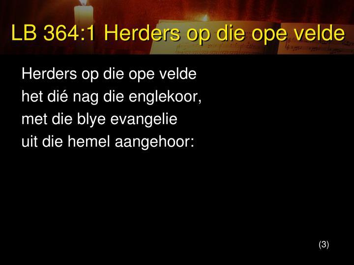 LB 364:1 Herders op die ope velde
