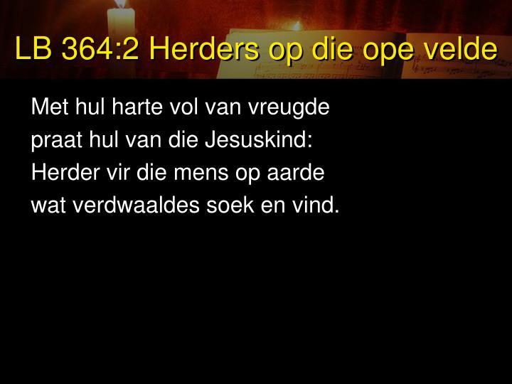 LB 364:2 Herders op die ope velde