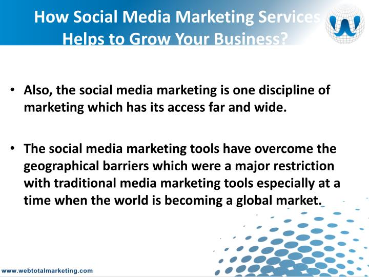 How Social Media Marketing Services Helps to Grow Your Business?