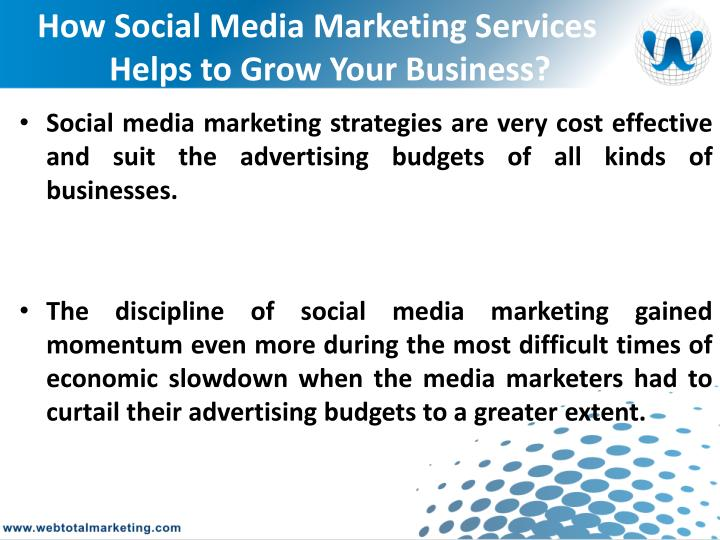 How Social Media Marketing Services