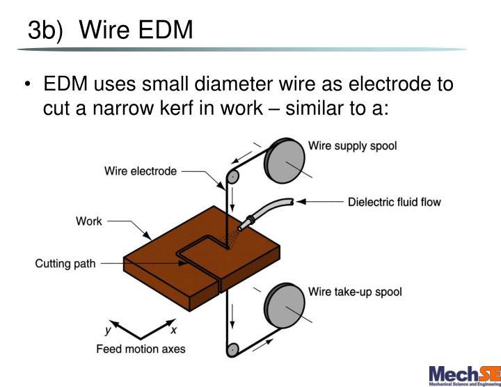 3b)  Wire EDM